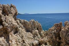 Rock in Croatia Stock Photos