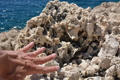 Rock in Croatia Stock Images