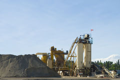 Rock Crushing Plant Stock Photos