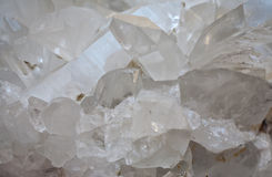 Rock crystal Stock Photos