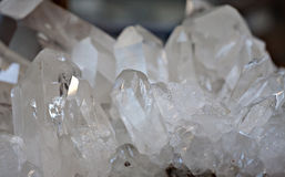 Rock crystal Royalty Free Stock Photos