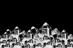Rock crystals background Royalty Free Stock Image
