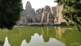 Rock cut temple Dharamshala india royalty free stock image