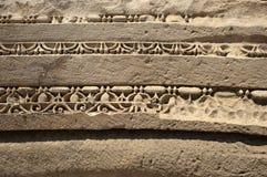 Rock-cut tombs in Myra, Demre, Turkey, Scene 7. A series of photos. Rock-cut tombs in Myra, Lycian tombs, near the city of Demre in modern Turkey Royalty Free Stock Photo