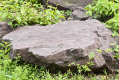 Rock at dam Royalty Free Stock Photography