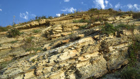 Rock deposits Royalty Free Stock Photography