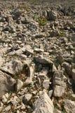 Rock Desert. (Croatia Island Pag Royalty Free Stock Photo