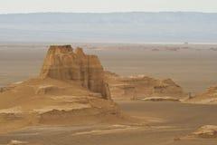 Rock desert, Lut (Kalut) desert Stock Photos
