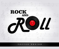 Rock design Royalty Free Stock Photography