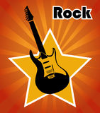 Rock design Royalty Free Stock Images