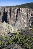 Rock Details in Black Canyon of the Gunnison Royalty Free Stock Images