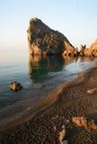 Rock Diva, Simeiz, Crimea, Ukraine. Rock Diva near Simeiz, Crimea, Ukraine. Black sea Stock Images