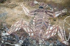 Rock drawings. Ancient unusual aboriginal rock drawings in australia royalty free stock photos