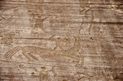 Rock Drawings in Valcamonica 5 Royalty Free Stock Images