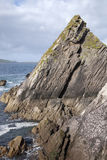 Rock at Dunquin Harbour, Dingle Peninsula; Ireland Royalty Free Stock Photo