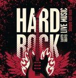 Rock duro Imagen de archivo libre de regalías