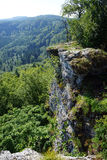 Rock edge Royalty Free Stock Images