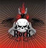 Rock emblem royalty free illustration
