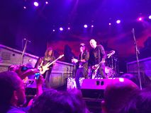 Rock en Lima Peru 2017 stock image