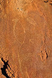 Rock engravings at Twyfelfontein, Namibia Stock Image