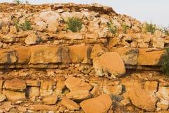 Rock Erosion at Lake Powell Stock Photo