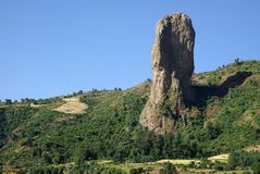 Rock in Ethiopia Royalty Free Stock Photo