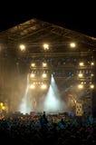 rock för 6 konsert Royaltyfria Bilder