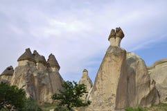 rock för bildande för cappadocialampglas felik Royaltyfri Bild