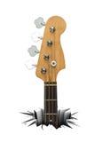 rock för instrumentmusikmusikal Arkivfoton