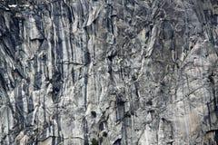 Rock face. Close up of granite rock face from El Capitan yosemite Royalty Free Stock Photo