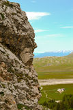Rock face Royalty Free Stock Photo