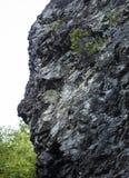 Rock face shape Royalty Free Stock Photos
