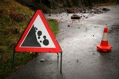 Rock fall Stock Photos
