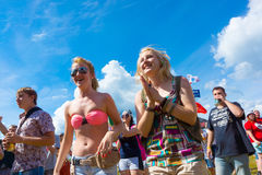 Rock festival Stock Images