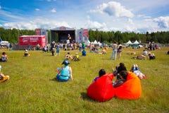 Rock festival Royalty Free Stock Photo