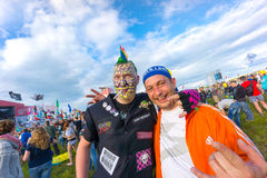 Rock festival Royalty Free Stock Images
