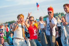 Rock festival Stock Image