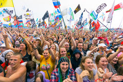 Rock festival Stock Photo