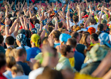 Rock festival Royalty Free Stock Photo