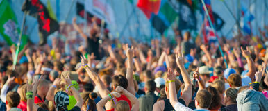 Rock festival Stock Photo