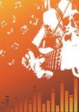 Rock festival poster. Clip-art Stock Photos