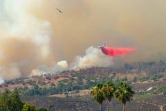 Rock Fire San Diego California Stock Photos