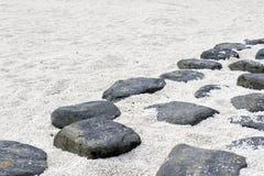 Rock footpath Stock Image