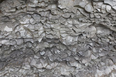 Rock form a stone texture background flush layer Stock Photos