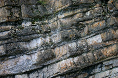 Rock Formation. Rocks washed many years with water Royalty Free Stock Photos