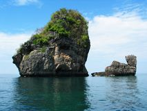 Rock Formation. In Thailand stock images