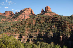 Rock formation along the Oak Creek Canyon in Sedona, Arizona, US Stock Photo
