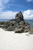 Apo island beach negros philippines Royalty Free Stock Photos
