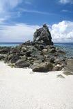 Apo island beach negros philippines Royalty Free Stock Photos