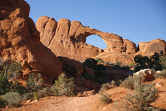 Rock formation in Arches National Park, Utah, USA Royalty Free Stock Images